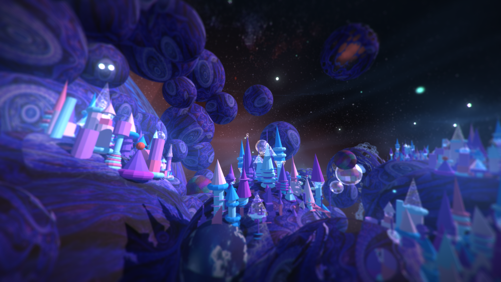 Created with TiltBrush, Google Blocks and Mandelbulber