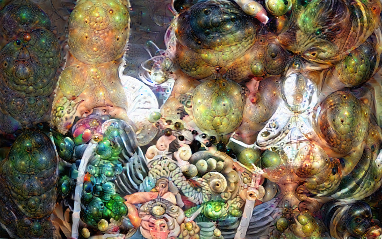 Deep Dream Tattoo