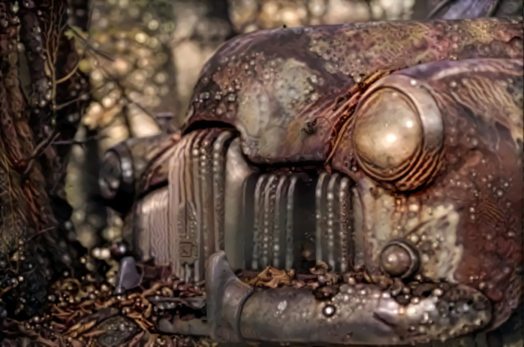 Deep Dream Car, edited by Rein Bijlsma