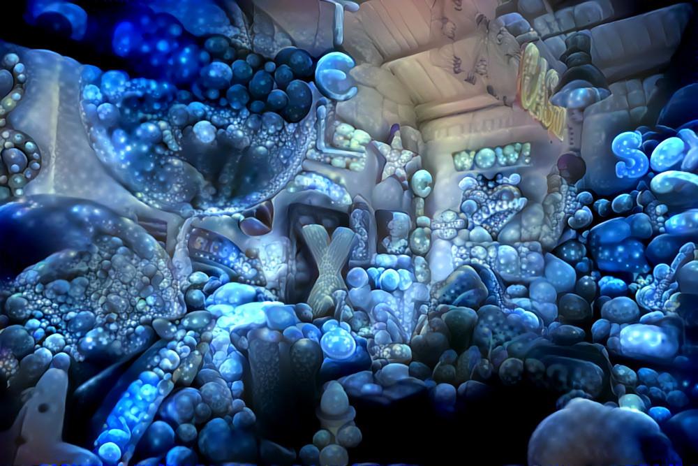 Deep Dream Fungus, edited by Rein Bijlsma