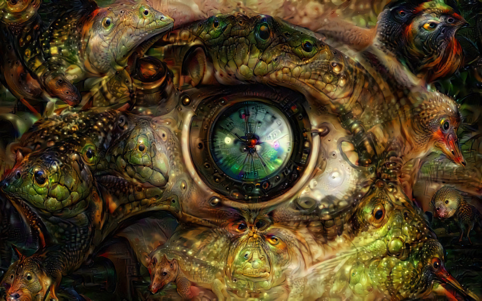 Deep Dream Eye, by Rein Bijlsma